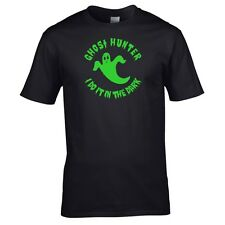 Halloween Fancy Dress - Men & Women's Ghost Hunting T-Shirt (Ghost Hunter)