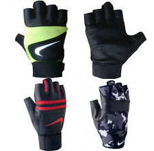 NEW MENS NIKE ALPHA HEAVY WEIGHT TRAINING,LIFTING,CARDIO,GYM GLOVES SIZES:S-XL