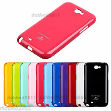 MERCURY GLITTER PEARL JELLY ULTRA THIN CASE FOR SAMSUNG GALAXY NOTE 2 II N7100