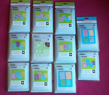 Cuttlebug companion embossing folders. Set of 4. You chose. New in package
