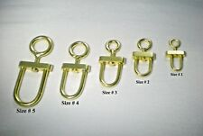 Falconry Swivels Golden All Sizes (100% Stainless Steel, Guaranteed, Fair Price)