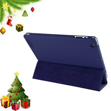 Magnetic PU Leather Smart Cover Case for New iPad 3 Flip Stand with Sleep Wake