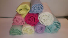 NEW 2 New Baby / Toddler Cot Bed / Cotbed Fitted Sheets 70cm x 140cm Any colour