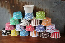 Cupcake Muffin Paper Cups Liners Nut Snack Dessert Ice Cream Choose Colors