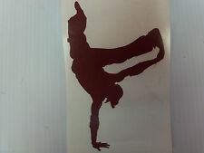 Break Dancer Vinyl Decal/Sticker Any Color Or Size On request
