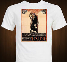 FAUST - Goethe - Theatrical version poster - classic drama theater T-shirt