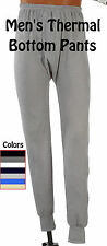 MENS THERMAL PANTS BOTTOM LONG JOHN UNDERWEAR ALL COLORS & SIZES
