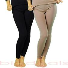 Fleece Lined Thermal Bottom Pant Legging Stretch Winter Soft Long Microfiber 223