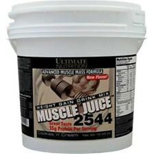 ULTIMATE NUTRITION Muscle Juice 2544 Weight Gain 10.45 lbs buy 1 - 2 - 3 & save