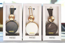 WESC BANJAR GOLDEN PREMIUM HEADPHONES DEADSTOCK AUTHENTIC RZA IMPORTED FROM USA