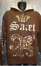 Authentic SMET by Christian Audigier Unisex Zip Up Hoodie