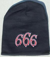 Hells Angels Cave Creek Supporter - 666 Beanie - in Black or Red