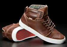 Vans Alomar Native American Leather Trainers brown skate shoes OTW All Sizes!