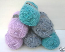 Bergere De France Eclair 50g Skeins French Yarn Touch of Sparkle Knit Crochet