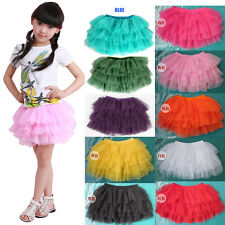 U Pick Toddler Kids Girls TUTU Skirt Party Holiday Dance TK018 Size 2-12 years