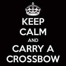 walking dead keep calm and carry a crossbow zombie tshirt s m l xl 2x 3x