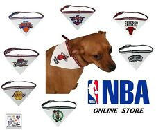 NBA Officially Licensed Pet Bandana Collar (Assorted Teams & Sizes)