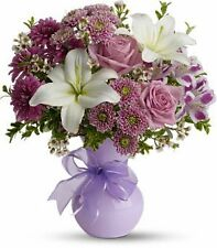 Teleflora's Precious in Purple TFWEB602 - Fresh Flower Delivery