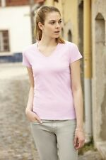 FOTL V Neck Valueweight Lady Fit T Shirt (61398)  Huge stocks and Quick Delivery