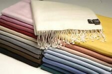 Top Quality Ladies Pashmina Shawl Hijab Scarf All colours Wrap stole UK STOCK