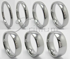 Tungsten Carbide Wedding Band, Men & Women Ring - Size 4 to 14.5