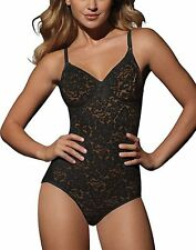 Bali Lace 'N Smooth Women's Body Briefer - style 8L10