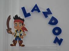 Jake Neverland Pirates PERSONALIZED cake topper or ANY character Cake Decoration