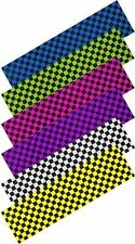 """New Enuff Chequered Square Pro Scooter/Skateboard Board Grip Tape-9""""x33"""" Sheet"""