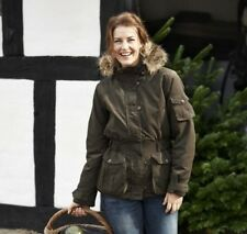 Seeland Endmoor Ladies Waterproof Jacket/Coat with Fur Collar