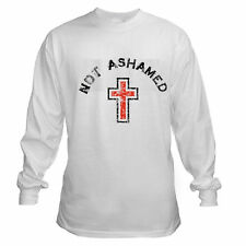 NOT ASHAMED CHRISTIAN CONSERVATIVE JESUS IS LORD LONG SLEEVE T-SHIRT