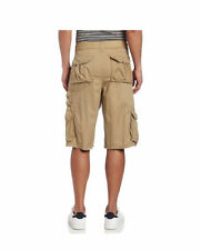 SOUTHPOLE Mens Fine Twill Cargo Shorts SP Collection KHAKI NWT pic size