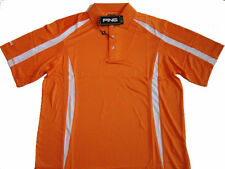 PING GROOVE Mens SS Golf Polo Shirt    Mango    NTW    pick your size