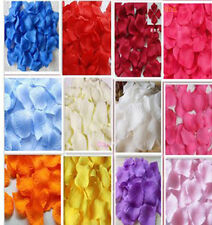 1000pc SILK fabric Rose Petals Wedding Flower Decoration Party favor fashion