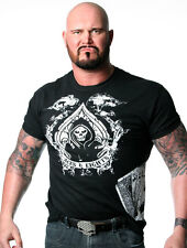"""Official TNA Impact Wrestling Aces & Eights """"Dead Man's Hand"""" T-Shirt"""