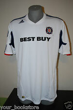 New Adidas Chicago Fire Best Buy MLS Football Club Soccer Climacool Jersey