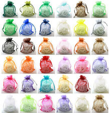 11X16CM Top Sale Organza Wedding Gift Jewellery Bags &Pouches In Stock in UK