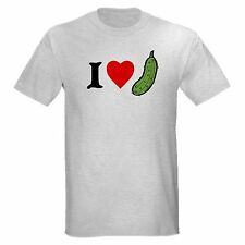 I LOVE PICKLES college funny fried dill sweet bread & butter T-SHIRT