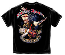 AMERICAN POSTAL WORKER TSHIRT MAIL CARRIER SERVING AMERICA WORKER T-SHIRT AW106