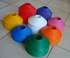 Sports Markers 50 Cone Sets-football/tennis/cricket/training flexi/safe-UK made