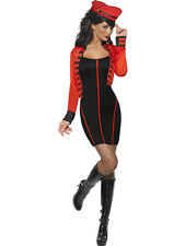 Military Pop Star Fancy Dress Costume