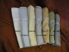 100% Cotton - Waterbed Sheet set with 4 Pillowcases - Silver w/ Stay tuck poles