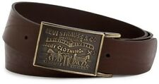 NEW LEVI'S BELT BROWN Style# 11LV0253 Levi Strauss Buckle Size 30 32 34 36 38 40
