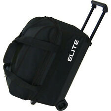 Elite Basic Double Roller Bowling Ball Bag -  Check out the Color Combinations