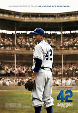42 Movie POSTER Jackie Robinson Baseball Cooperstown Yankees Dodgers