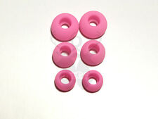 3 Pair Replacement Tips All Monster Beats In Ear Buds Earphones Rubber Soft PINK