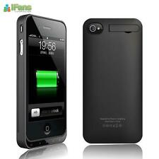 IFans iPhone 4 Backup Extended Battery Case Cover with Stand for Apple 4G 4S