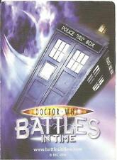 Dr Who Battles In Time Devastators 879-940 Common Cards Choose Your Card