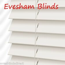 MADE TO MEASURE White Wooden Venetian Blind MADE TO MEASURE BLINDS WOOD