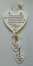 Shabby Chic Personalised Niece Daughter Gift Birthday 16th18th 21st 30 40 50th
