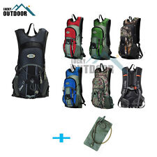 Cycling Bicycle Pack Backpack with Hydration Water Bag Rucksack Road MTB Bike